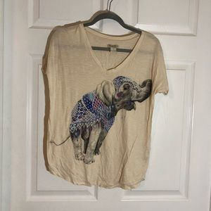 Lucky brand elephant top